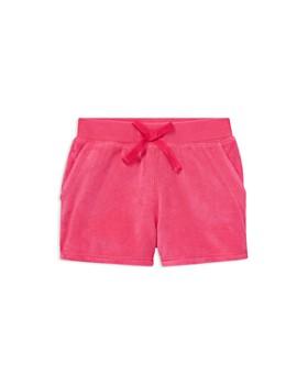 2eaf27aabbd Ralph Lauren - Girls  Cotton-Blend Terry Shorts - Little Kid ...