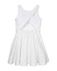 Ralph Lauren - Girls' Cotton Pique Dress - Big Kid