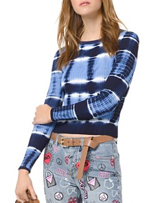 MICHAEL Michael Kors - Ribbed Tie-Dyed Sweater