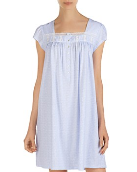 563dc2a726 Quick View. Eileen West Short Zip Robe.  64.00. Eileen West - Cap-Sleeve  Short Nightgown ...