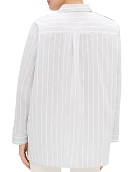 Lafayette 148 New York - Trinity Button-Sleeve Shirt