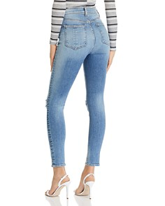 rag & bone/JEAN - Nina High-Rise Ankle Skinny Jeans in Tulsa
