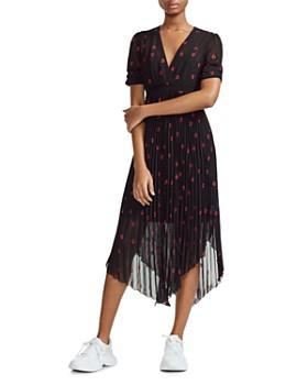 Maje - Rengo Embroidered Heart Dress