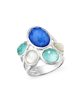 IPPOLITA - Sterling Silver Wonderland Mother-of-Pearl Doublet Statement Ring