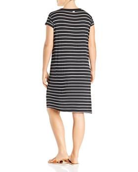 303a7dfc19b ... Marc New York Plus - Striped T-Shirt Dress