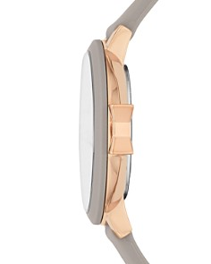 kate spade new york - Park Row Taupe Silicone Strap Watch, 34mm