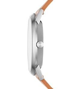 Skagen - Kristoffer Brown Leather Strap Watch, 42mm
