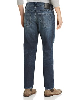 True Religion - Geno Straight Fit Jeans in Worn Santiago