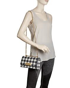 ZAC Zac Posen - Earthette Small Gingham Convertible Shoulder Bag