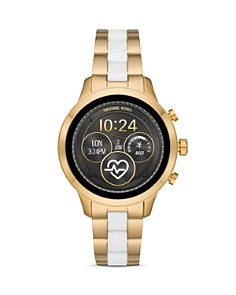 Michael Kors - Runway Two-Tone Link Bracelet Touchscreen Smartwatch, 41mm