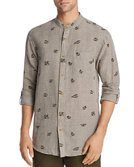 Scotch & Soda - Palm Tree-Print Regular Fit Shirt