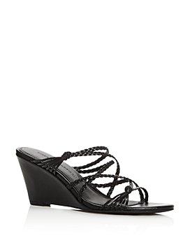 Sigerson Morrison - Women's Maddie Wedge Slide Sandals - 100% Exclusive