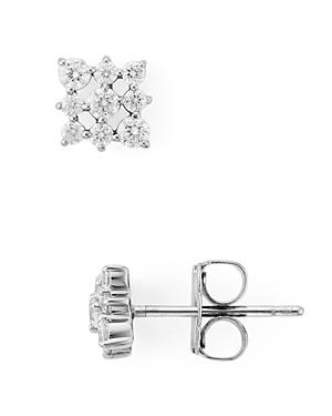 Nadri Lattice Stud Earrings-Jewelry & Accessories
