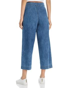 MKT Studio - Pepin Sailor-Style Denim Pants