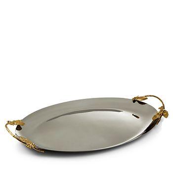Michael Aram - Hydrangea Small Oval Tray - 100% Exclusive