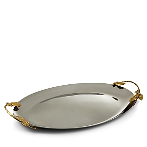 Michael Aram Hydrangea Small Oval Tray - 100% Exclusive-Home