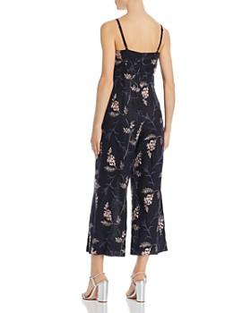 Rebecca Taylor - Ivie Floral-Embroidered Jumpsuit