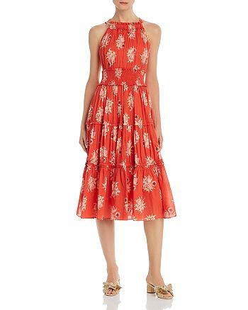 Rebecca Taylor - Catrine Floral Midi Dress