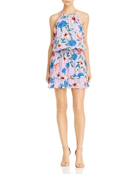 Parker - Williame Floral Silk Dress