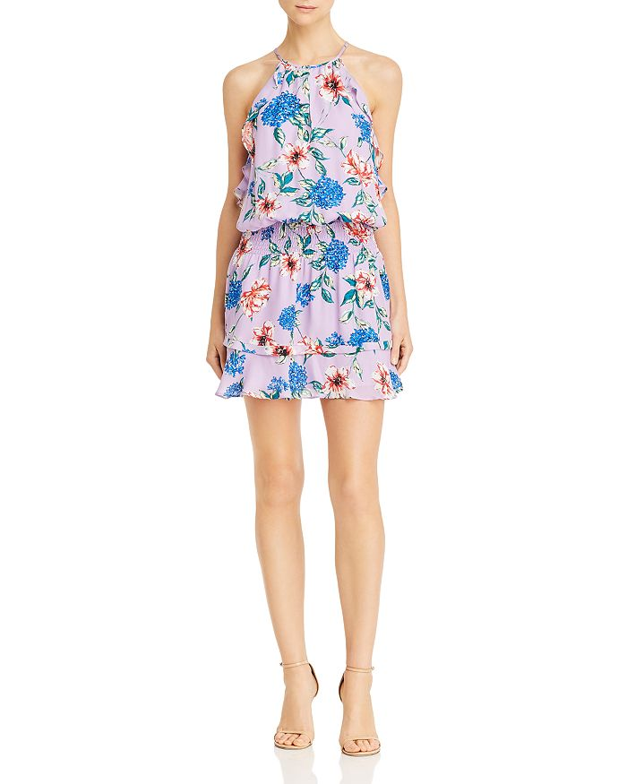 Parker - Williame Floral Silk Dress