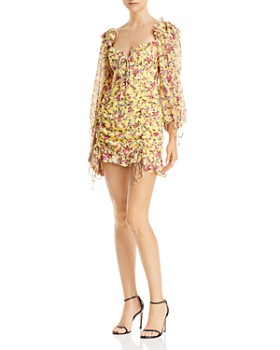 22a40a3cff For Love & Lemons - Beaumont Floral Mini Dress ...
