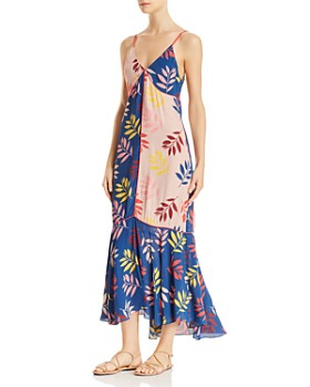 Carolina K - Vera Printed Maxi Dress