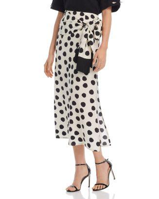 Polka Dot Skirt by Bloomingdales