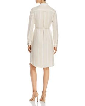 Lafayette 148 New York - Peggy Striped Linen Shirtdress