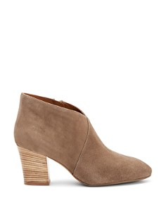 Aquatalia - Women's Emiliana Weatherproof Crossover Block Heel Booties