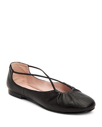 Taryn Rose - Women's Alessandra Leather Ballet Flats