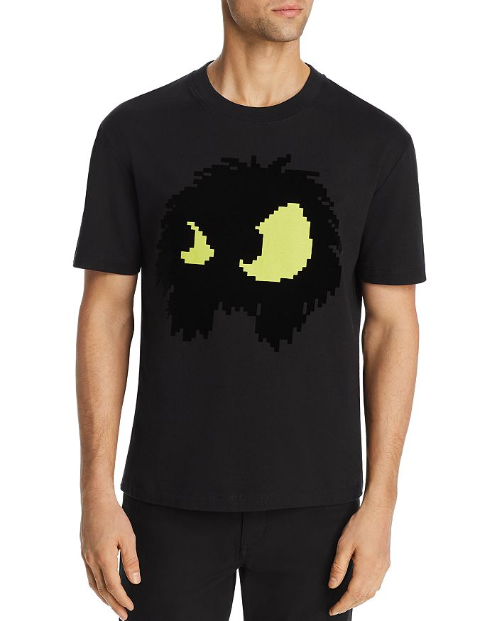 McQ Alexander McQueen - Chester Psycho Billy Graphic Appliqué Tee