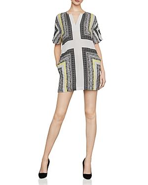Bcbgmaxazria Dresses SCARF-PRINT SHIFT DRESS