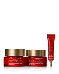 Clarins - Super Restorative Day & Night Defense Kit ($306 value)