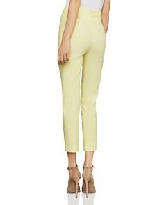 BCBGMAXAZRIA - Pintuck Cropped Skinny Pants