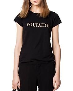 Zadig & Voltaire - Skinny Logo Tee