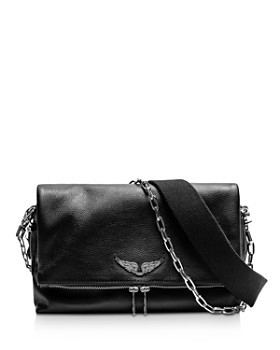5ca490a269d3 Zadig   Voltaire - Rocky Leather Crossbody ...