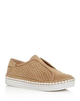 179bc82e0eb J Slides - Women s Kayla Woven Slip-On Platform Sneakers ...