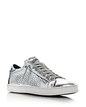 P448 Sneakers WOMEN'S QUEENS GLITTER MID-TOP SNEAKERS