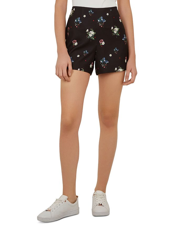 10d3e74cd Ted Baker - Naomii Oracle Floral Shorts