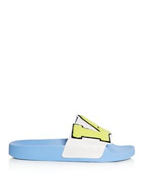 Tory Sport - Women's Letterman Slide Sandals