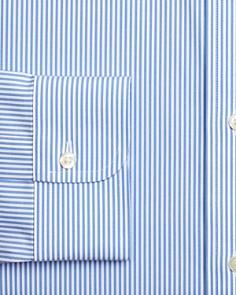 Brooks Brothers - Candy Striped Regular Fit Dress Shirt