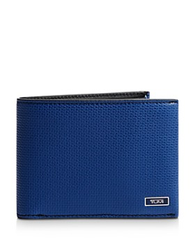 Tumi - Monaco Embossed Leather Double Billfold Wallet