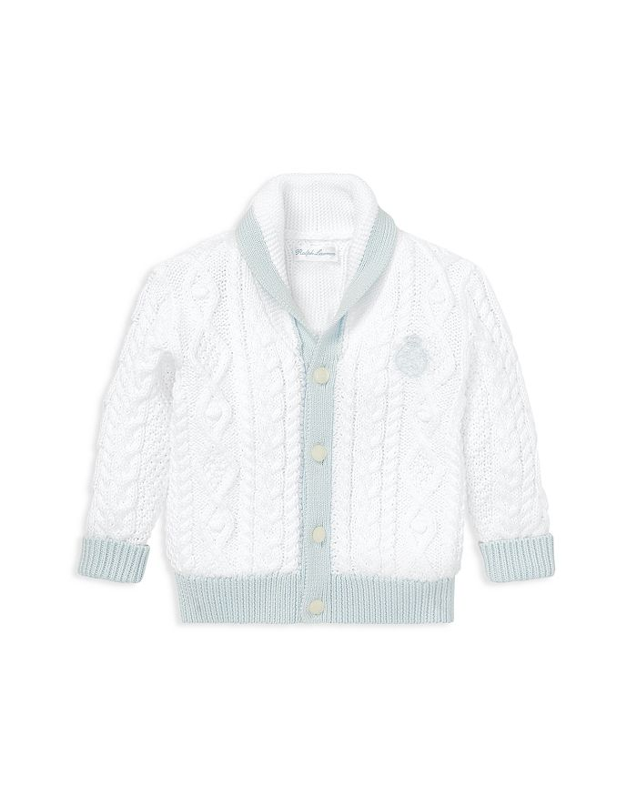 Ralph Lauren - Boys' Aran-Knit Cotton Cardigan - Baby