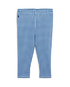 Ralph Lauren - Girls' Gingham Stretch Leggings - Baby