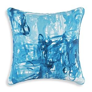 Sparrow & Wren Down Pillow in Stroke, 20 x 20