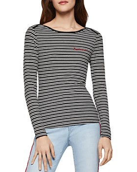 91230bbcf20246 BCBGENERATION - Daydreamin Striped Knit Top ...