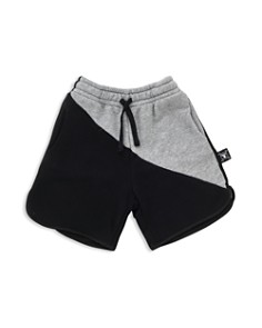 NUNUNU - Boys' Two-Tone Sweatshorts - Baby