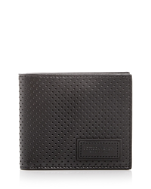 Bottega Veneta Perforated Leather Bi-Fold Wallet