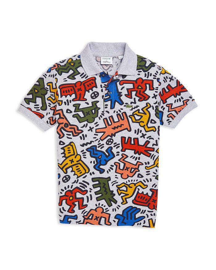 9a3b82ff7e8 Lacoste x Keith Haring Boys  Graphic Polo Shirt - Little Kid ...