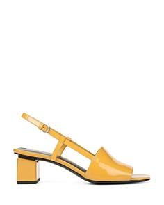 Via Spiga - Women's Florian Block Heel Slingback Sandals